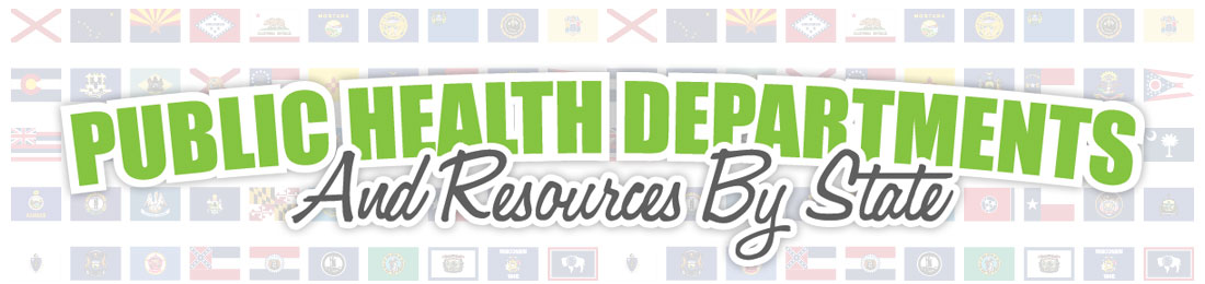 public health departments by state